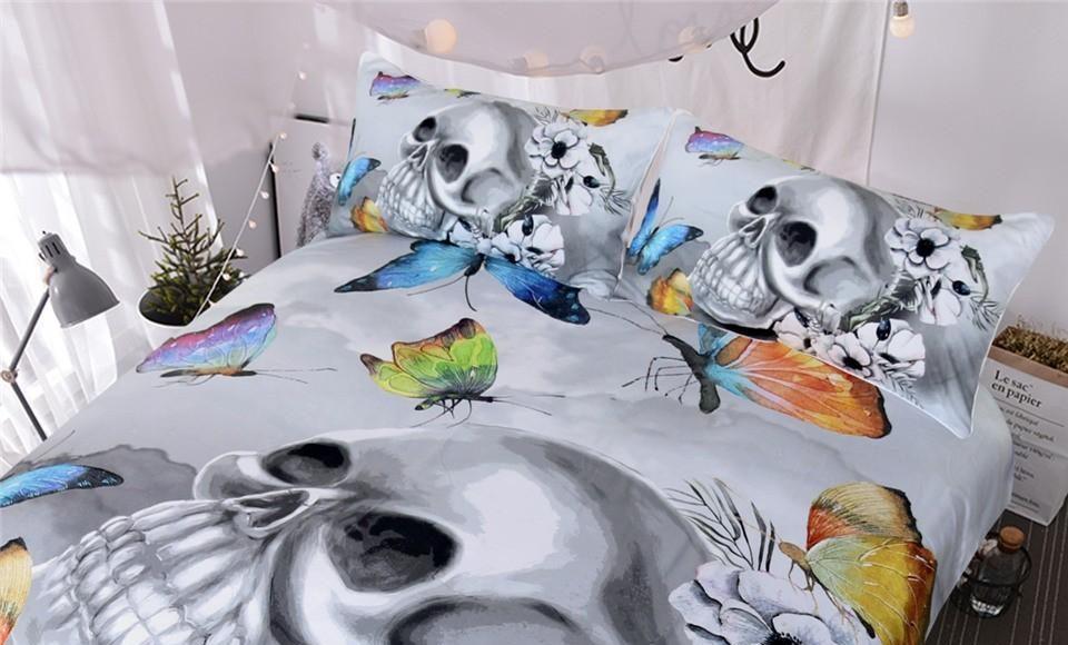 5 Best Skull Bedding Set