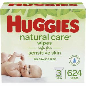 Natural Care Unscented Baby Wipes